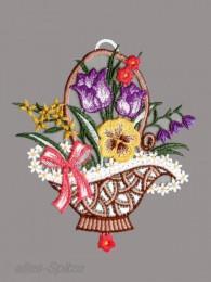 Kleiner Blumenkorb