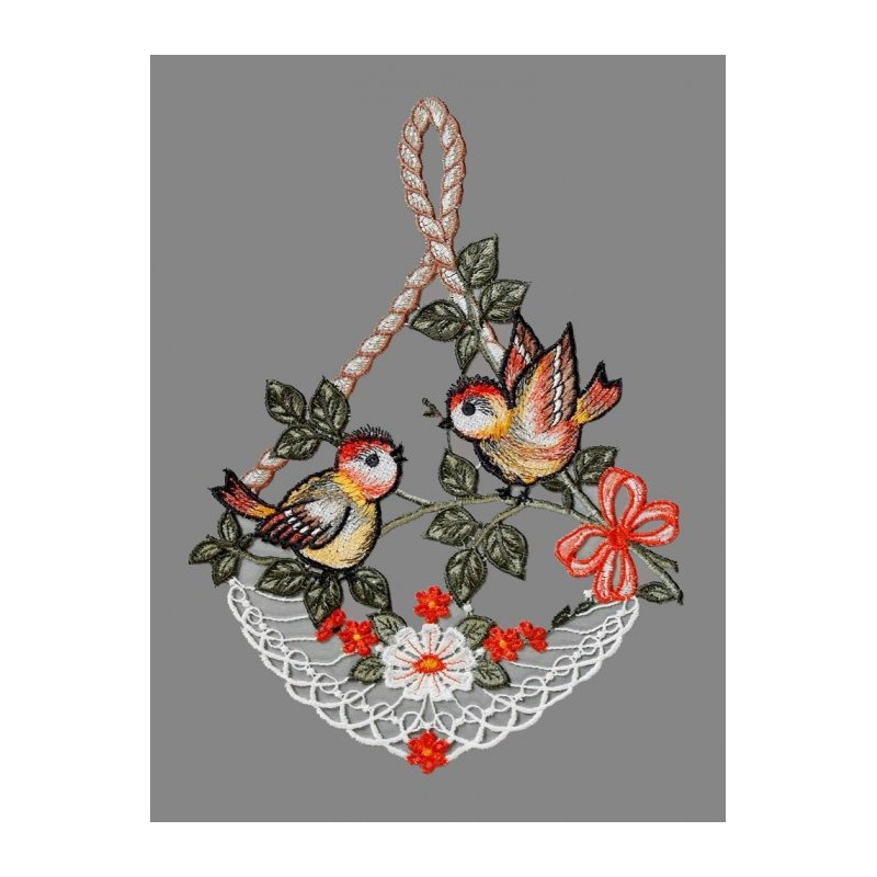 Fensterbild Vögelchen