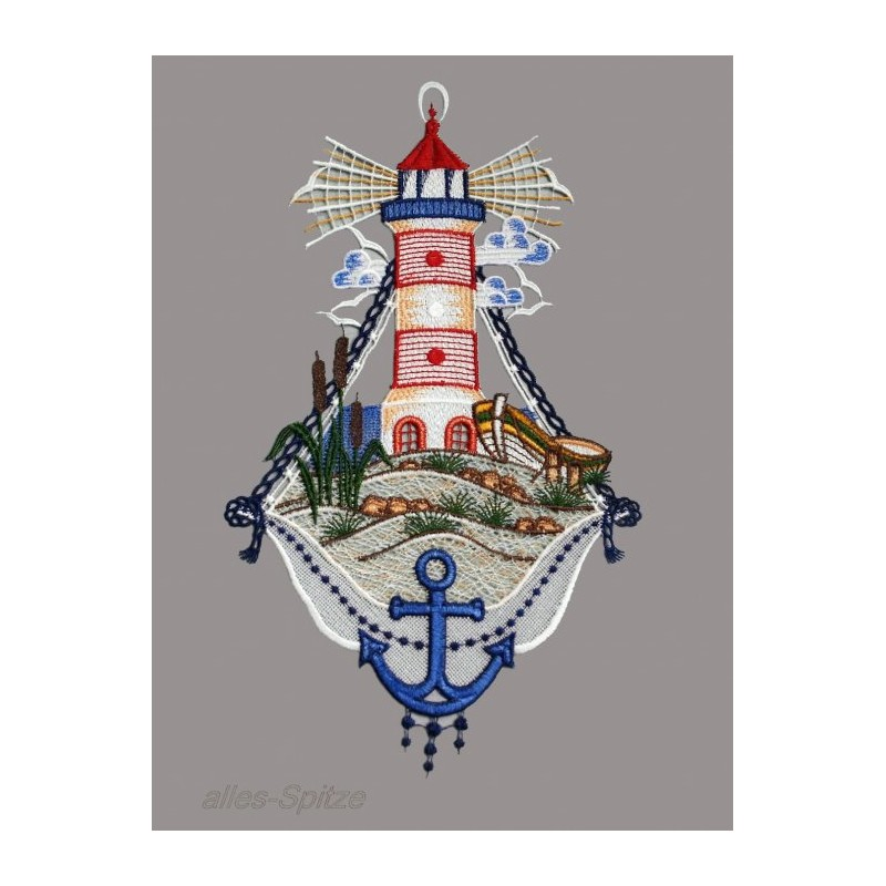 Leuchtturm aus Plaunern spitze