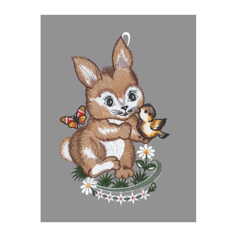 Kleiner Hase mit Vöglein
