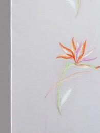 Schiebepaneele Strelitzie farbig detail