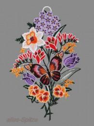 Blumenstrauß mit Schmetterling