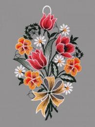 Tulpen mit Stiefmütterchen