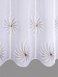 Stickerei-Scheibengardine Illusion detailbild