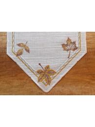 Herbstliche Tischwäsche Laura detail