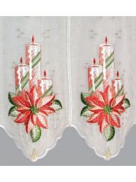 Panneau Kerzen mit Christrosen detail