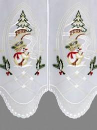 Wintergardine Kleiner Schneemann Detailbild