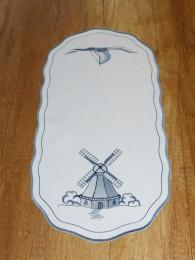 Stickereidecken Windmühle...