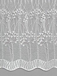 Spitzengardine Zierlauch detail