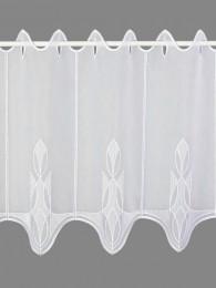 Kurzgardine Ricarda in weiß