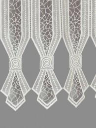 Spitzengardine Romina in natur Detail