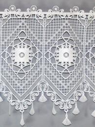 Spitzengardine Belinda Detailbild