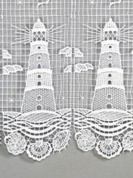 Spitzengardine Leuchtturm Detailbild