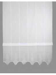 Raffrollo Ricarda in weiß
