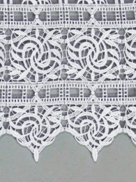 Spitzengardine Leona Detailbild