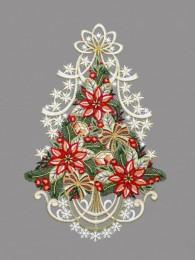 Baum mit Weihnachtsstern