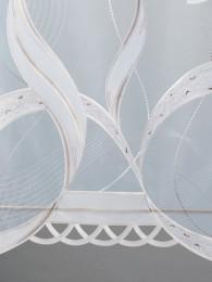 Plauener Stickerei-Schiebepaneele Emely detailbild