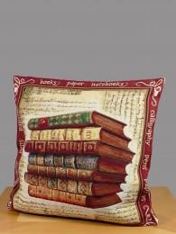 Gobelin Kissen Antike Bücher