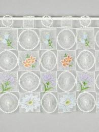 Spitzengardine Blütenzauber