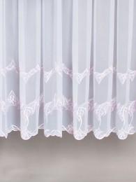 Stickereistore Verena in weiß-beige