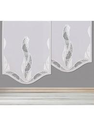 Elegante Schiebepaneele Carmen mit Bogen in weiß