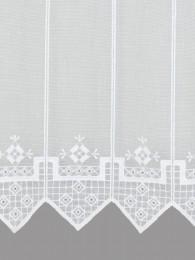 Stickerei-Kurzgardine Nina detail