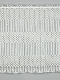Makrame-Spitzengardine Mayla in natur 70 cm