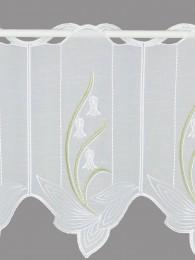 Stickerei-Scheibengardine May detail