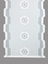 Schiebepaneele mit Elemente in weiß