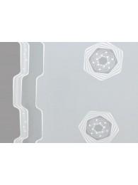 Schiebepaneele mit Elemente in weiß detail