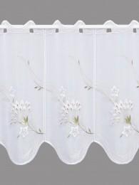 Kurzgardine Blumenranke