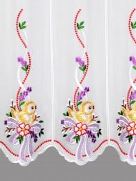 cheibengardine Küken mit Schleife in lila detail
