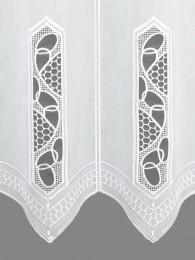 Scheibengardine Gretje detail
