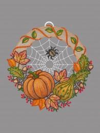 Fensterbild Herbststimmung