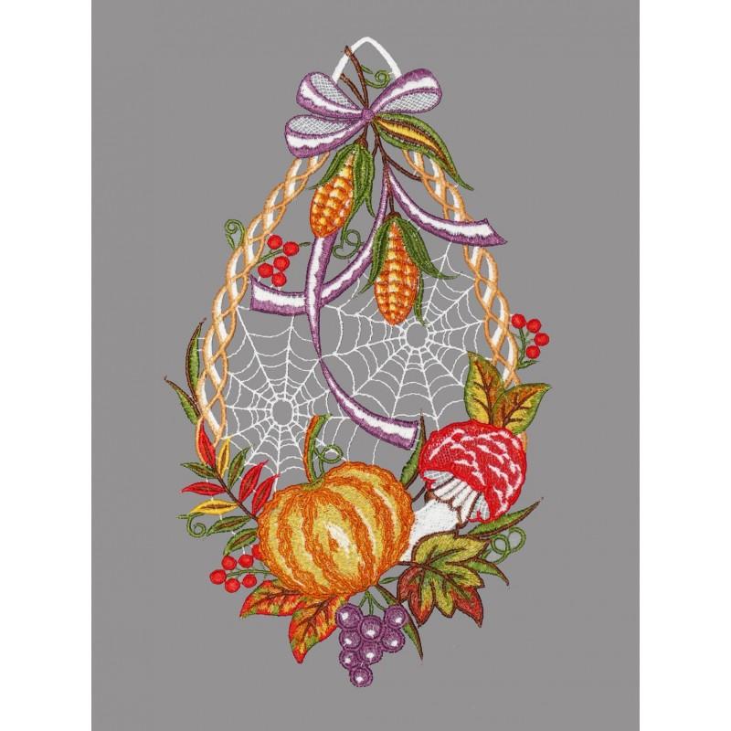 Fensterbild Herbstfrüchte