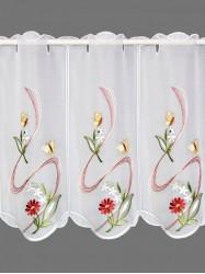 Kurzgardinen-mit-Blumenmotiven